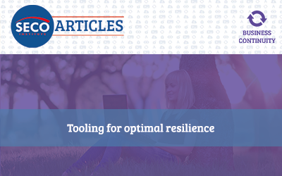 Tooling for optimal resilience