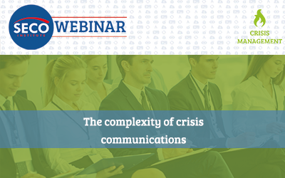 Webinar: The complexity of crisis communications